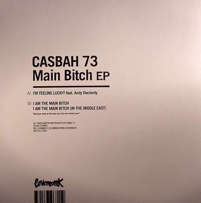 CASBAH 73 - Main Bitch EP