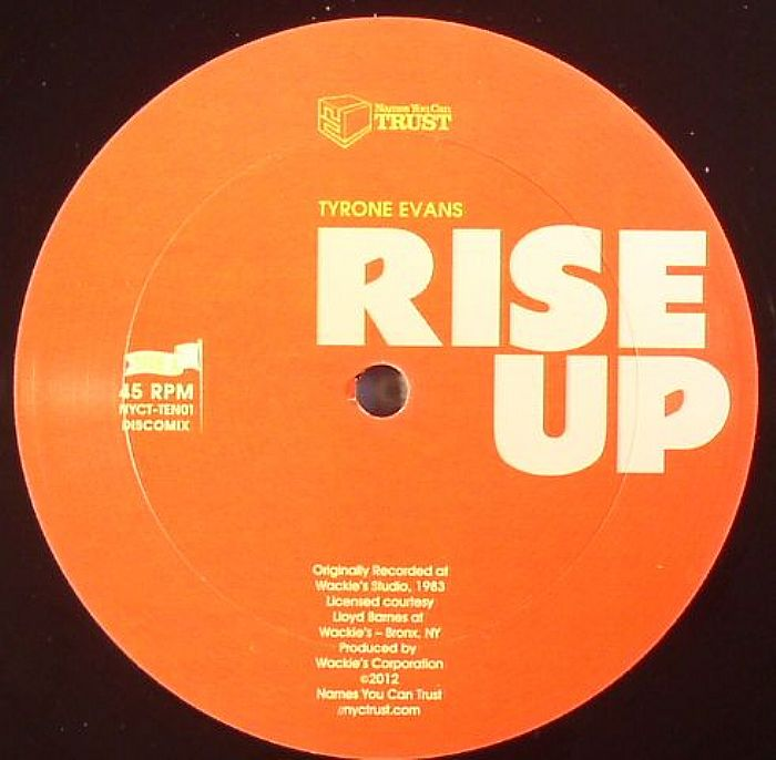 EVANS, Tyrone/GREENWOOD RHYTHM COALITION - Rise Up (warehouse find)