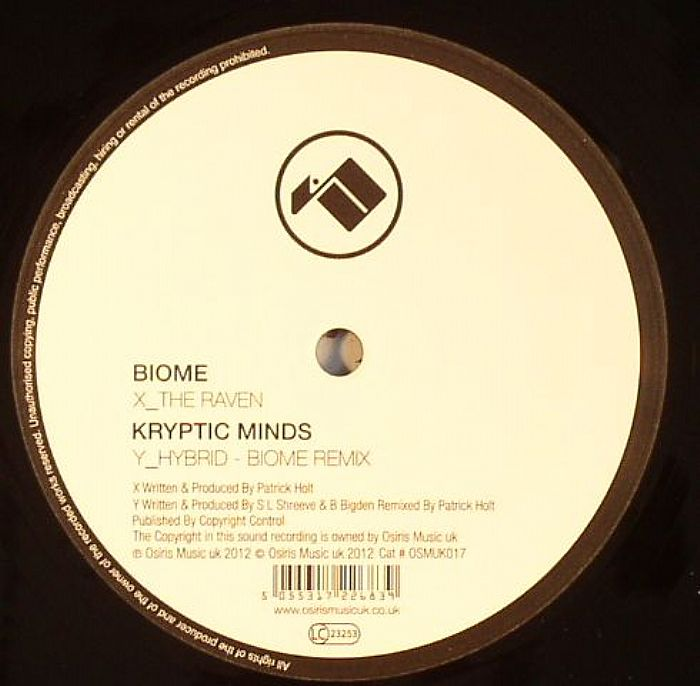 BIOME/KRYPTIC MINDS - The Raven