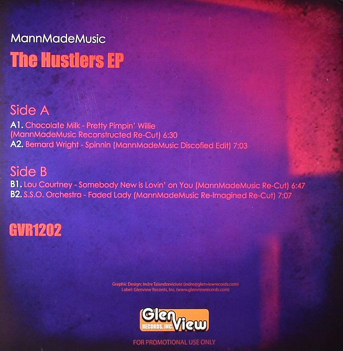 MANNMADEMUSIC - The Hustlers EP