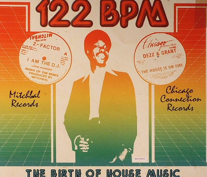 Jerome derradji various 122 bpm the birth of house music for House music bpm