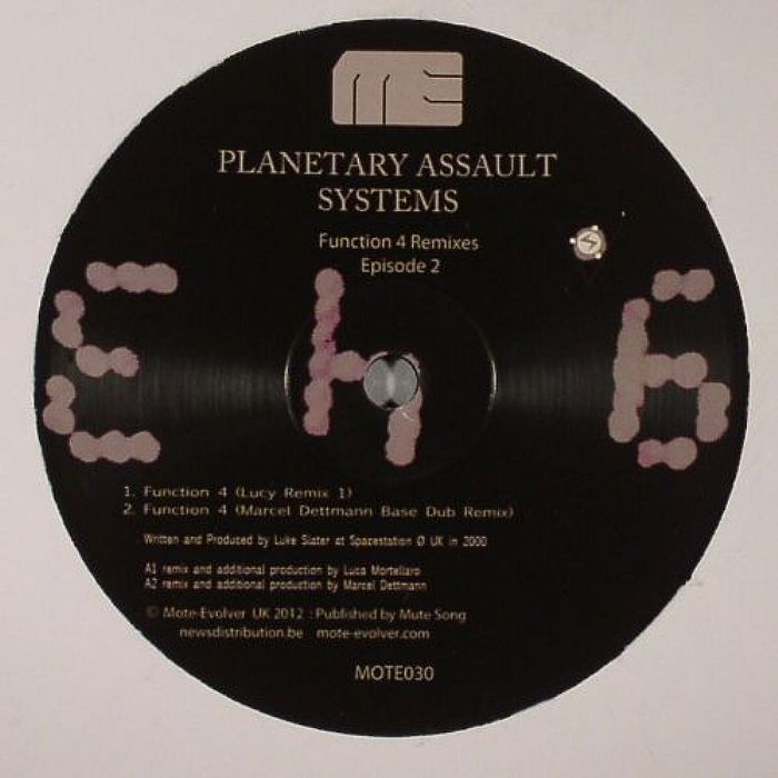 PLANETARY ASSAULT SYSTEMS - Function 4 Remixes: Episode 2