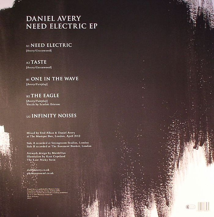 AVERY, Daniel - Need Electric EP