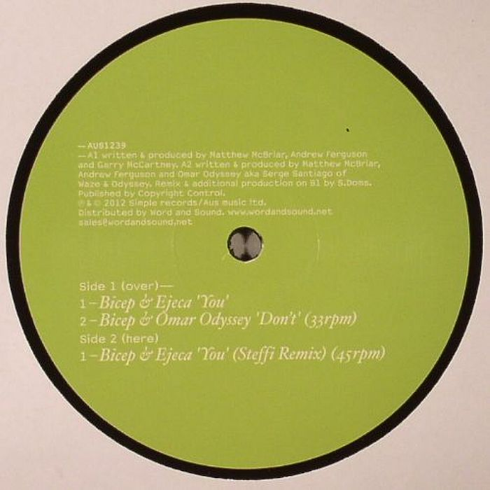 BICEP/EJECA/OMAR ODYSSEY - You/Don't EP