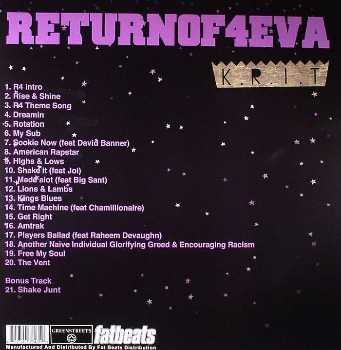 BIG KRIT - Return Of 4Eva