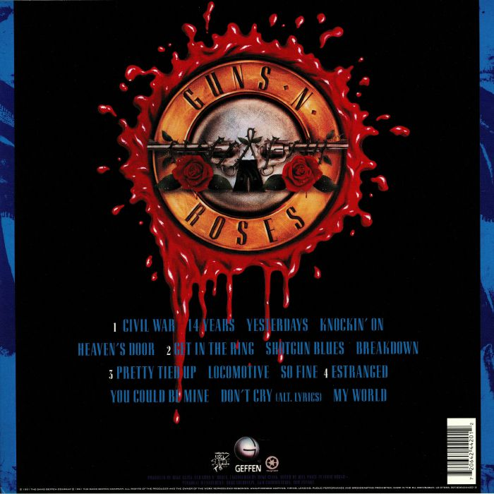 GUNS N ROSES - Use Your Illusion II