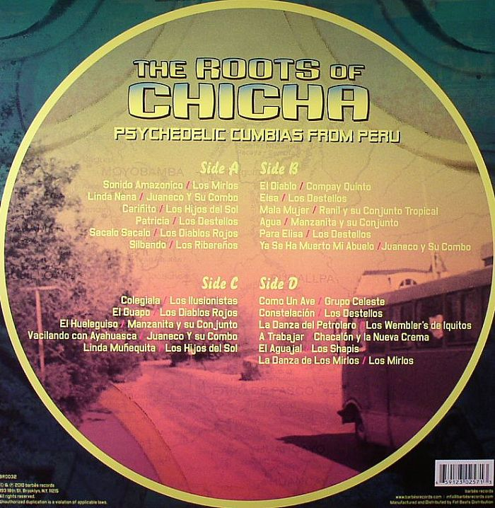 Various The Roots Of Chicha Psychedelic Cumbias From Peru
