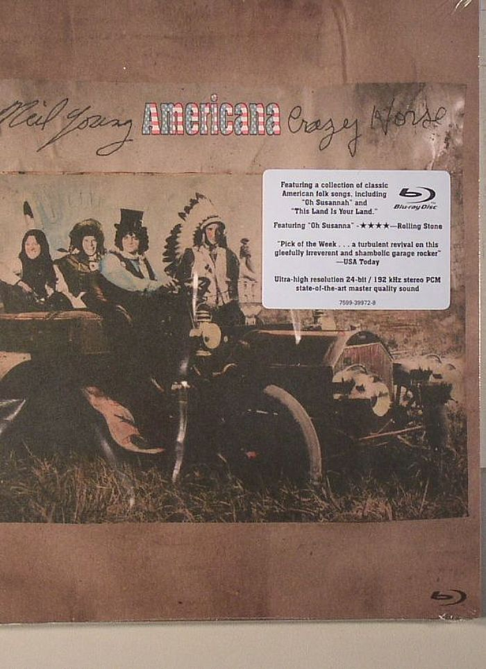 YOUNG, Neil/CRAZY HORSE - Americana