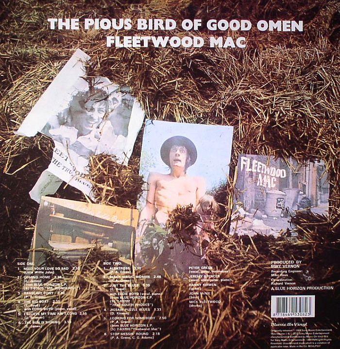 Fleetwood Mac The Pious Bird Of Good Omen Vinyl At Juno