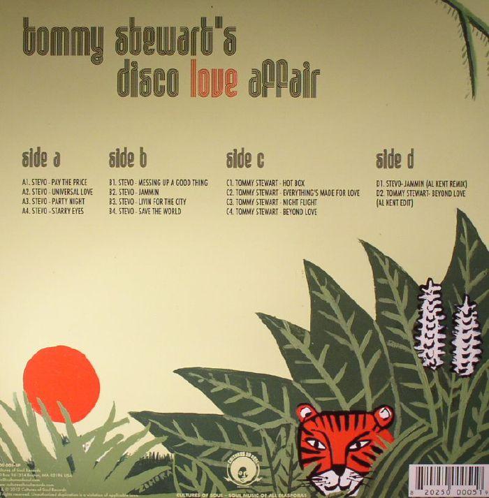 VARIOUS - Tommy Stewart's Disco Love Affair