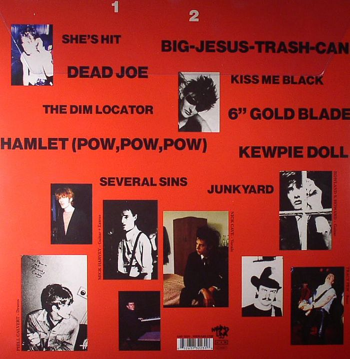 The BIRTHDAY PARTY Junkyard Vinyl At Juno Records