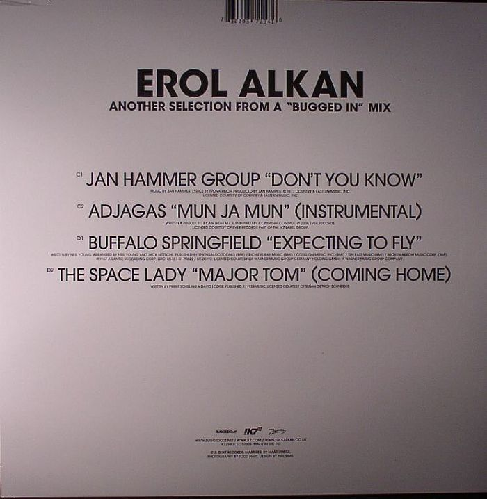 ALKAN, Erol/VARIOUS - Another Bugged In Selection & Bugged Out Mix
