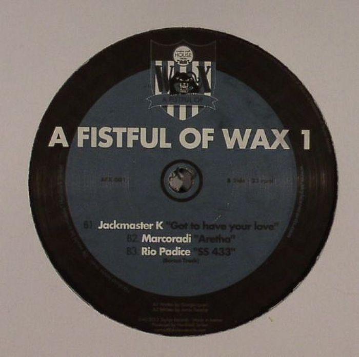 LUCERI, Giorgio/JAMIE TRENCH/JACKMASTER K/MARCORADI/RIO PADICE - A Fistful Of Wax 1