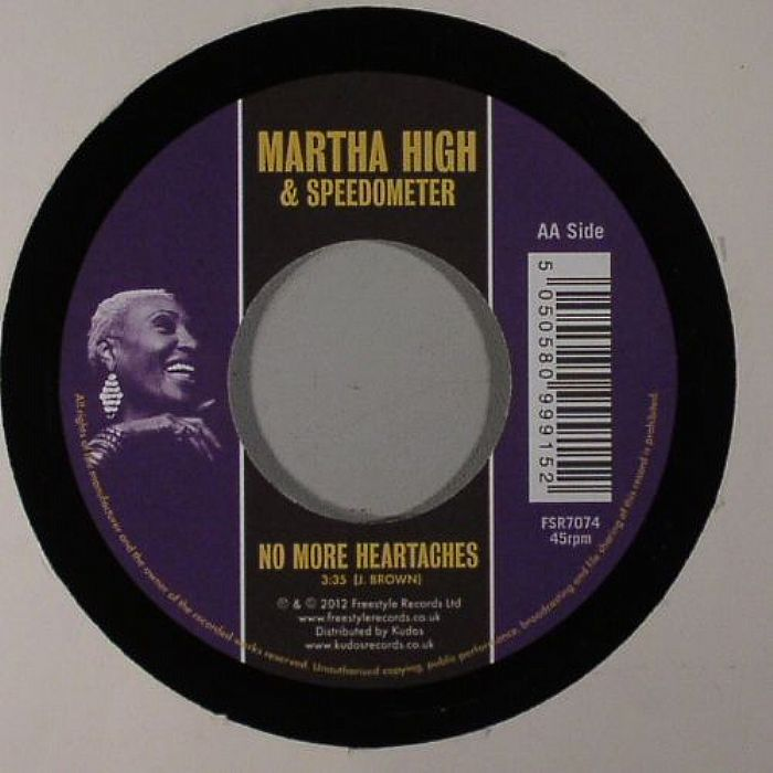 HIGH, Martha/SPEEDOMETER - I'd Rather Go Blind