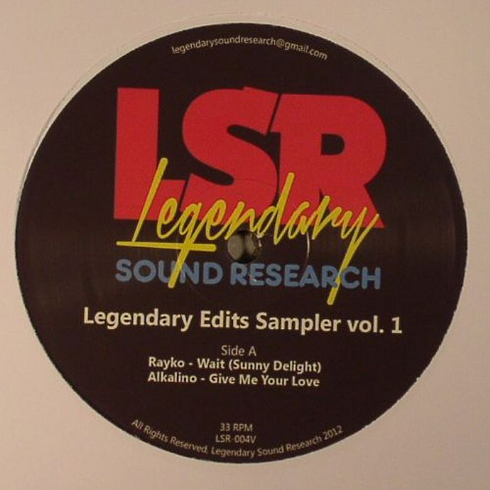 RAYKO/ALKALINO/78 EDITS/THE LEGENDARY 1979 ORCHESTRA - Legendary Edits Sampler Vol 1
