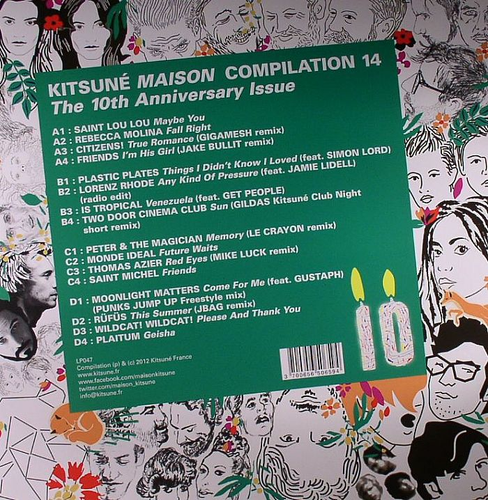 VARIOUS - Kitsune Maison Compilation 14: The 10th Anniversary Issue