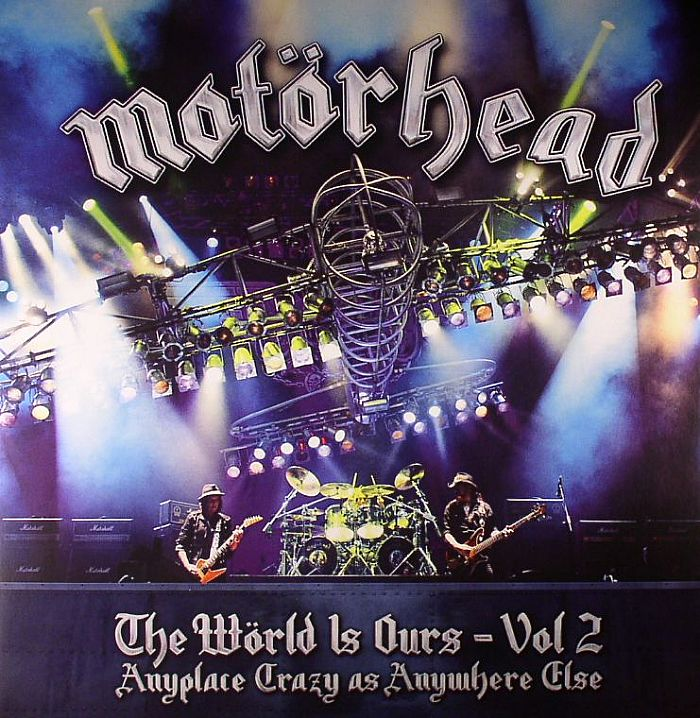MOTORHEAD - The World Is Ours Vol 2: Anyplace Crazy As Anywhere Else (Marken Open Air 2011, Germany 06/08/12)