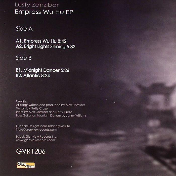 LUSTY ZANZIBAR - Empress Wu Hu EP