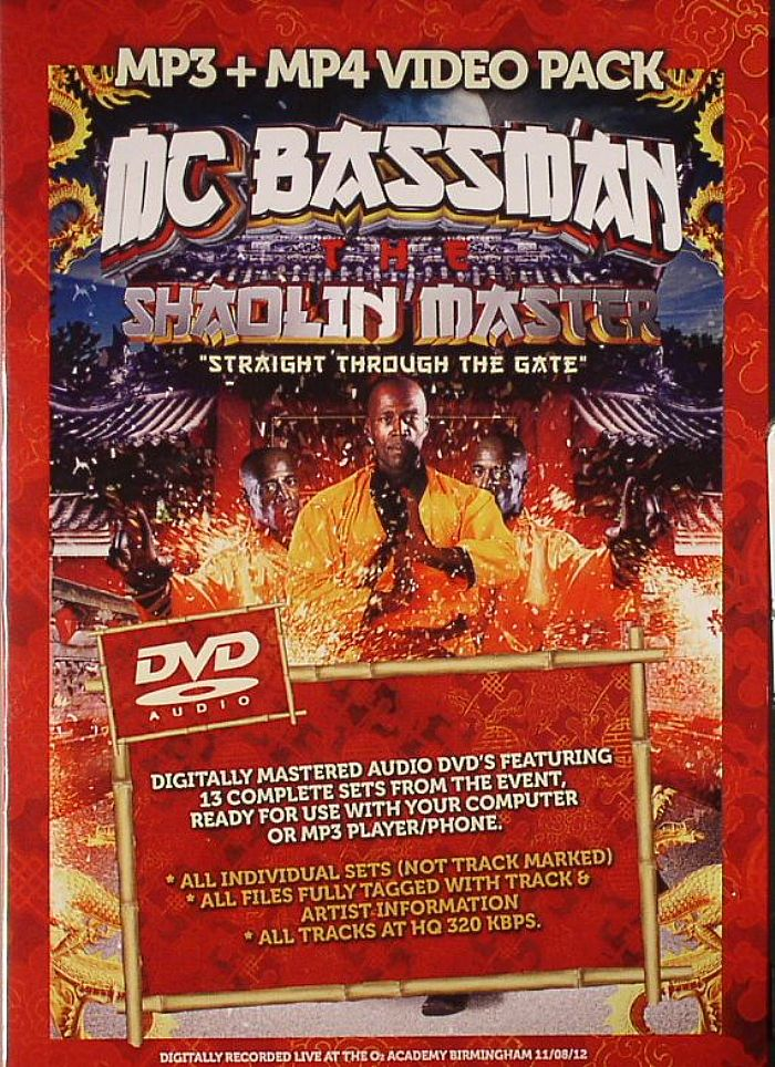 MC BASSMAN/FULL SHADOW DEMON COALITION/FABIO/GROOVERIDER/LOGAN D/MAJISTRATE/BROCKIE/VARIOUS - MC Bassman Shaolin Master Birthday Bash: Straight Through The Gate: Digitally Recorded Live At The O2 Academy Birmingham 11/08/12