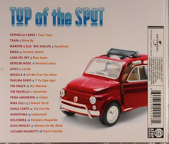 VARIOUS - Top Of The Spot 2012