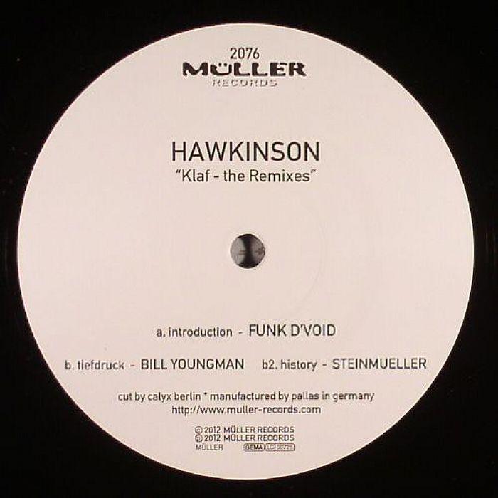 HAWKINSON - Klaf (remixes)