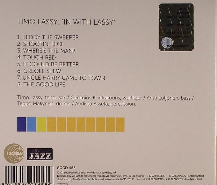 LASSY, Timo - In With Lassy