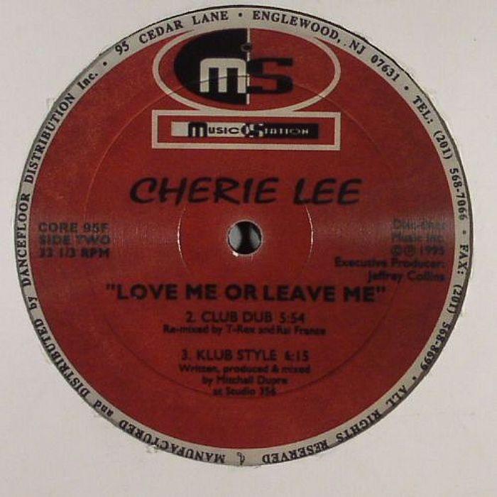 LEE, Cherie - Love Me Or Leave Me