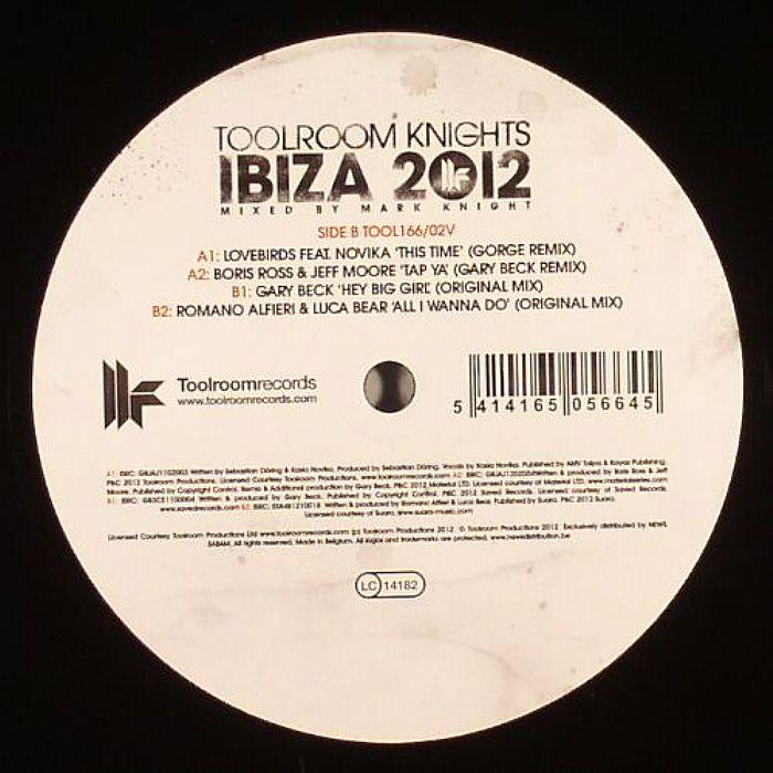 LOVEBIRDS/BORIS ROSS/JEFF MOORE/GARY BECK/ROMANO ALFIERI/LUCA BEAR - Ibiza 2012 Vol 2 Sampler 1/2