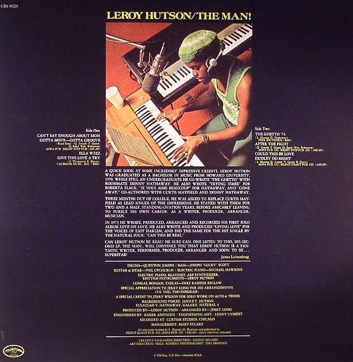 HUTSON, Leroy - The Man