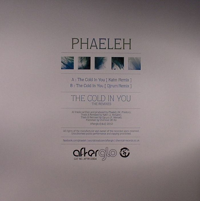 PHAELEH - The Cold In You (The Remixes)