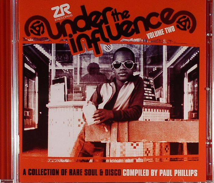 PHILLIPS, Paul/VARIOUS - Under The Influence Vol 2: A Collection Of Rare Soul & Disco