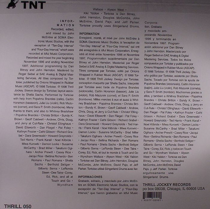 TORTOISE - TNT