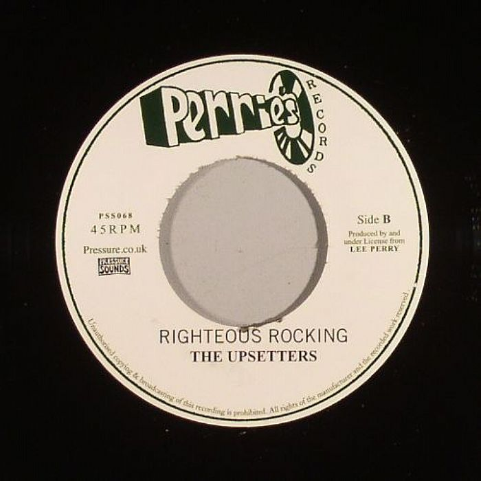 JUBE, Aleas/THE UPSETTERS - Righteous Land