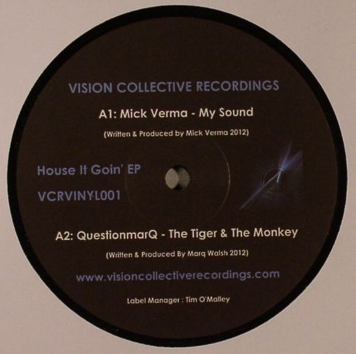 VERMA,Mick/QUESTIONMARQ/MAKSY - House It Goin EP