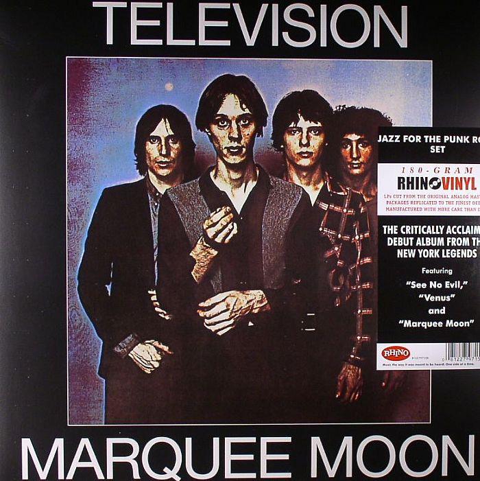 Television Marquee Moon Vinyl At Juno Records