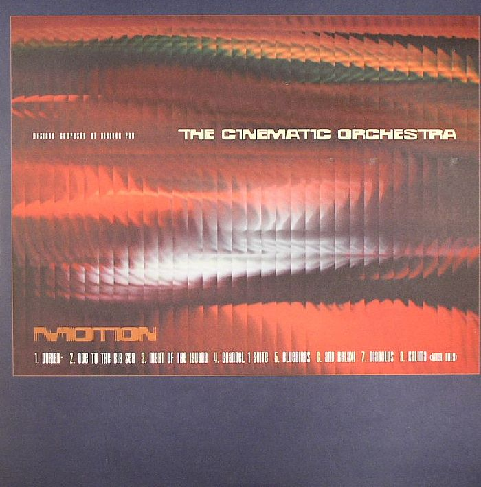 The Cinematic Orchestra Motion Vinyl At Juno Records