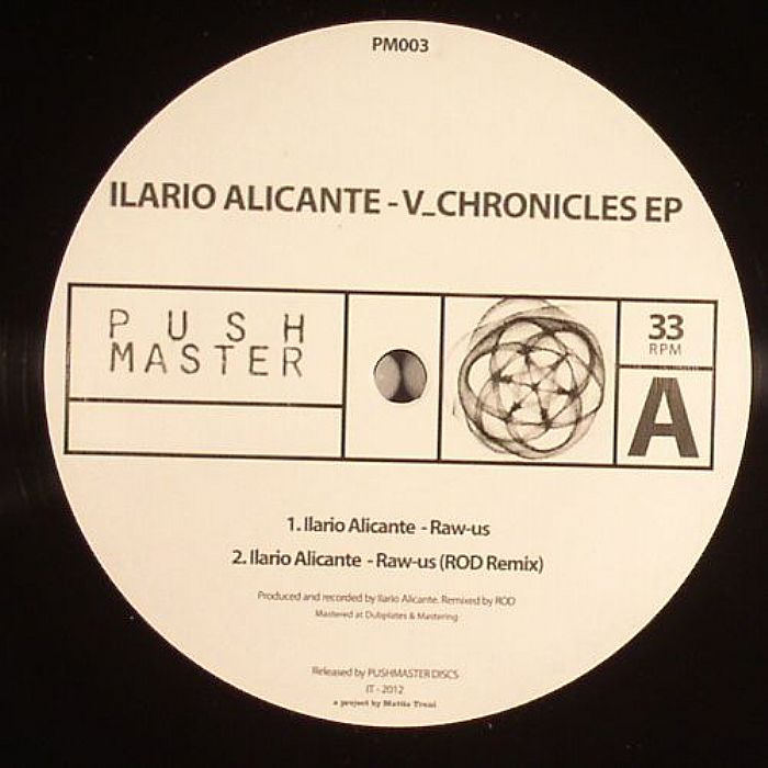 ALICANTE, Ilario - V_Chronicles EP