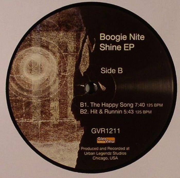 BOOGIE NITE - Shine EP