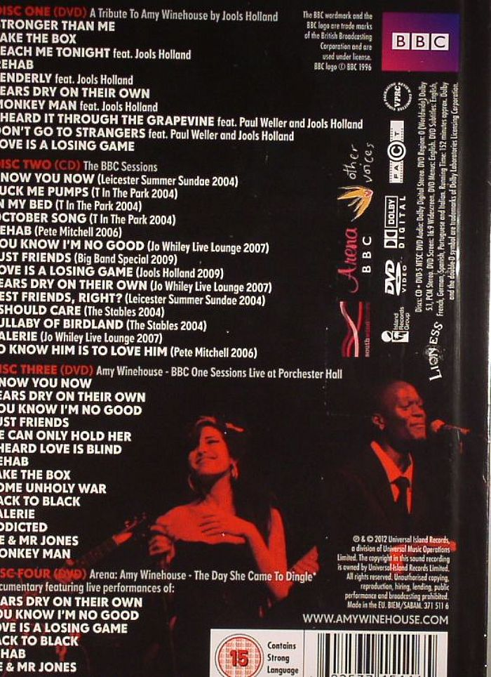 Amy Winehouse At The Bbc Vinyl At Juno Records