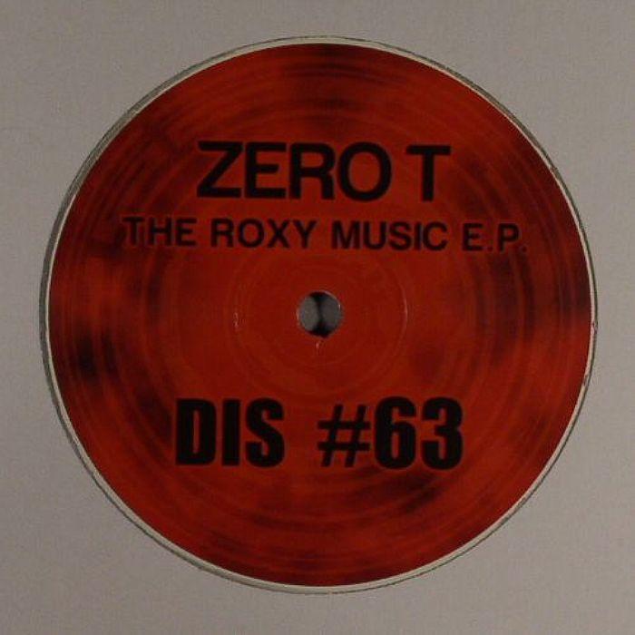 ZERO T/KHANAGE - The Roxy Music EP: Plate 1