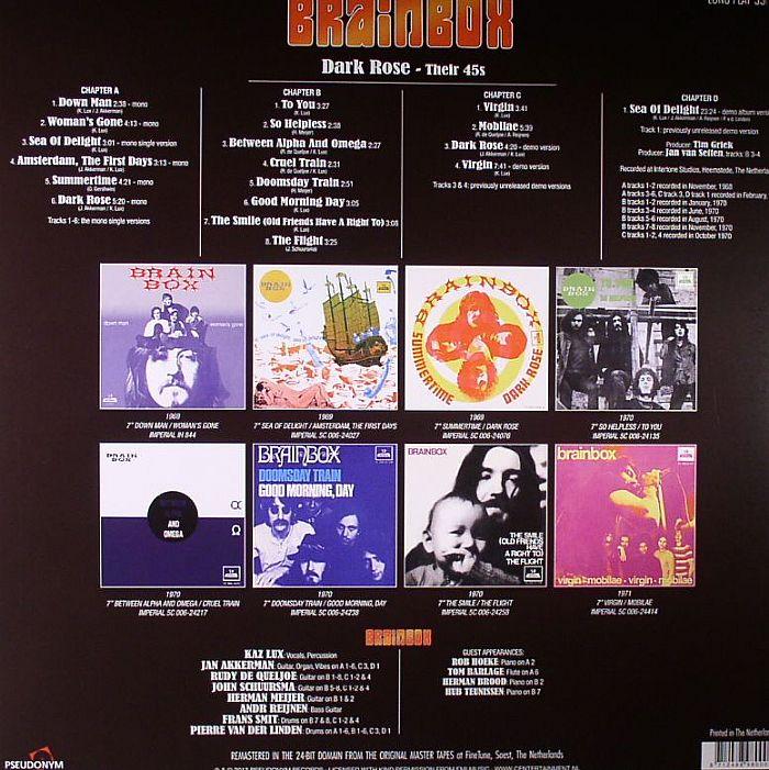 BRAINBOX - Dark Out: Their 45s (remastered)