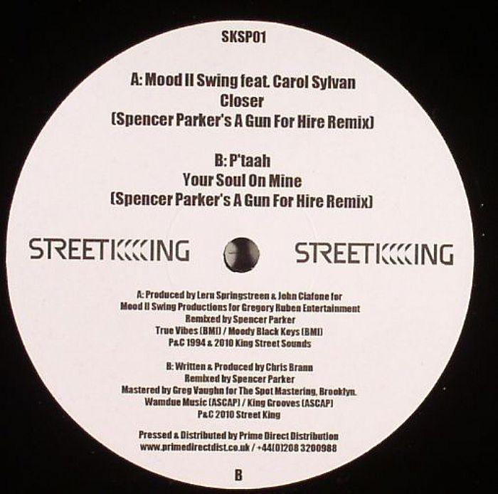 MOOD II SWING/P'TAAH - Closer (Spencer Parker's A Gun For Hire remix)