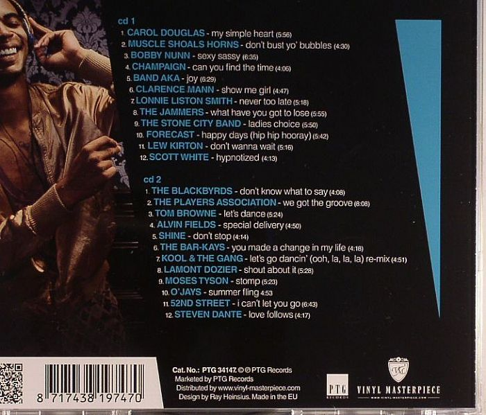 VARIOUS - 80's Soul Classics Vol 3: Sweet Soul Vibes & Funky Club Tunes