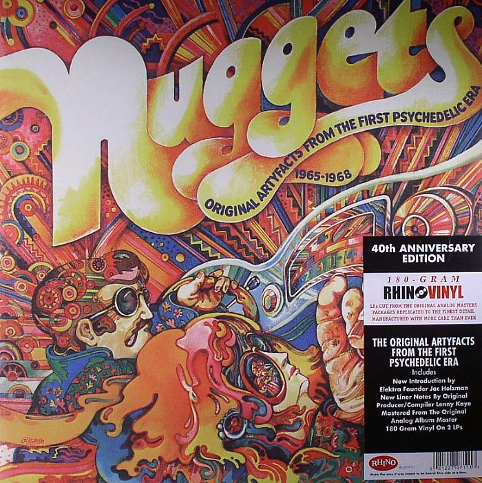 VARIOUS - Nuggets: The Original Artyfacts From The First Psychedelic Era 1965-1968 (40th Anniversary Edition)