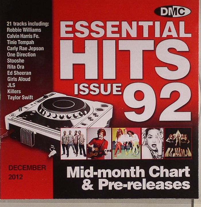 VARIOUS - Essential Hits 92 Mid Month Chart & Pre Releases (Strictly DJ Only)