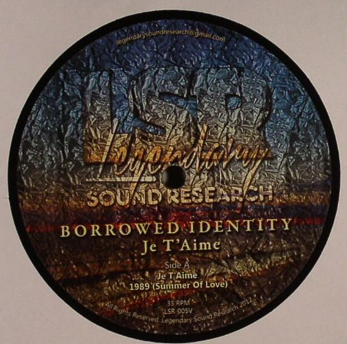 BORROWED IDENTITY - Je T'Aime