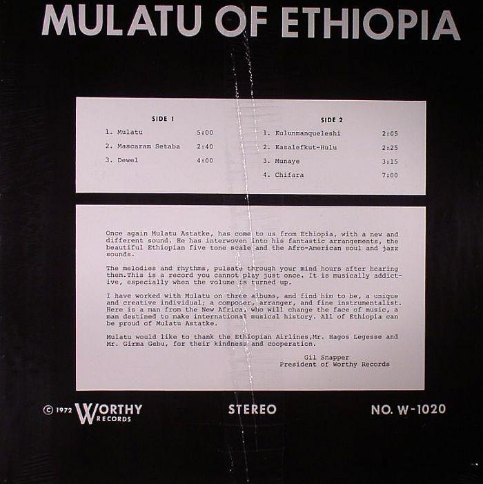 MULATU OF ETHIOPIA - Mulatu Of Ethiopia