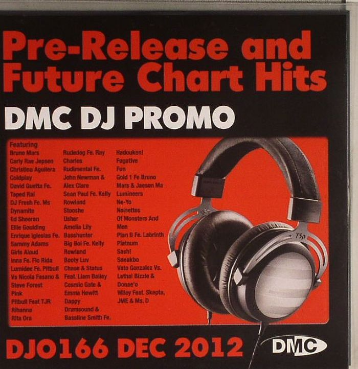 VARIOUS - DJ Promo DJO 166: December 2012 (Strictly DJ Use Only) (Pre Release & Future Chart Hits)