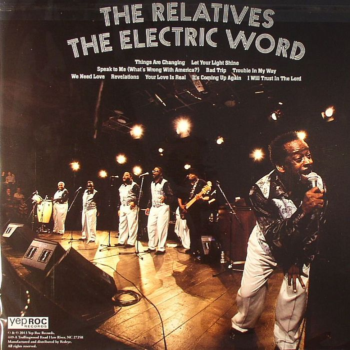 RELATIVES, The - The Electric Word
