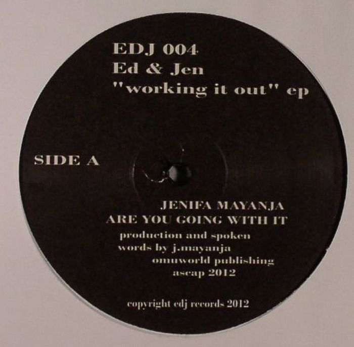 JEN & ED - Working It Out EP